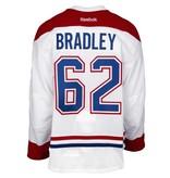 Club De Hockey CHANDAIL PORTÉ 2016-2017 #62 MATT BRADLEY À L'ÉTRANGER (CHANDAIL PRÉPARÉ)