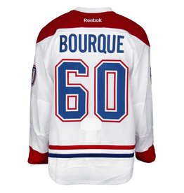 Club De Hockey 2016-2017 #60 SIMON BOURQUE AWAY GAME-USED JERSEY (GAME-ISSUED)