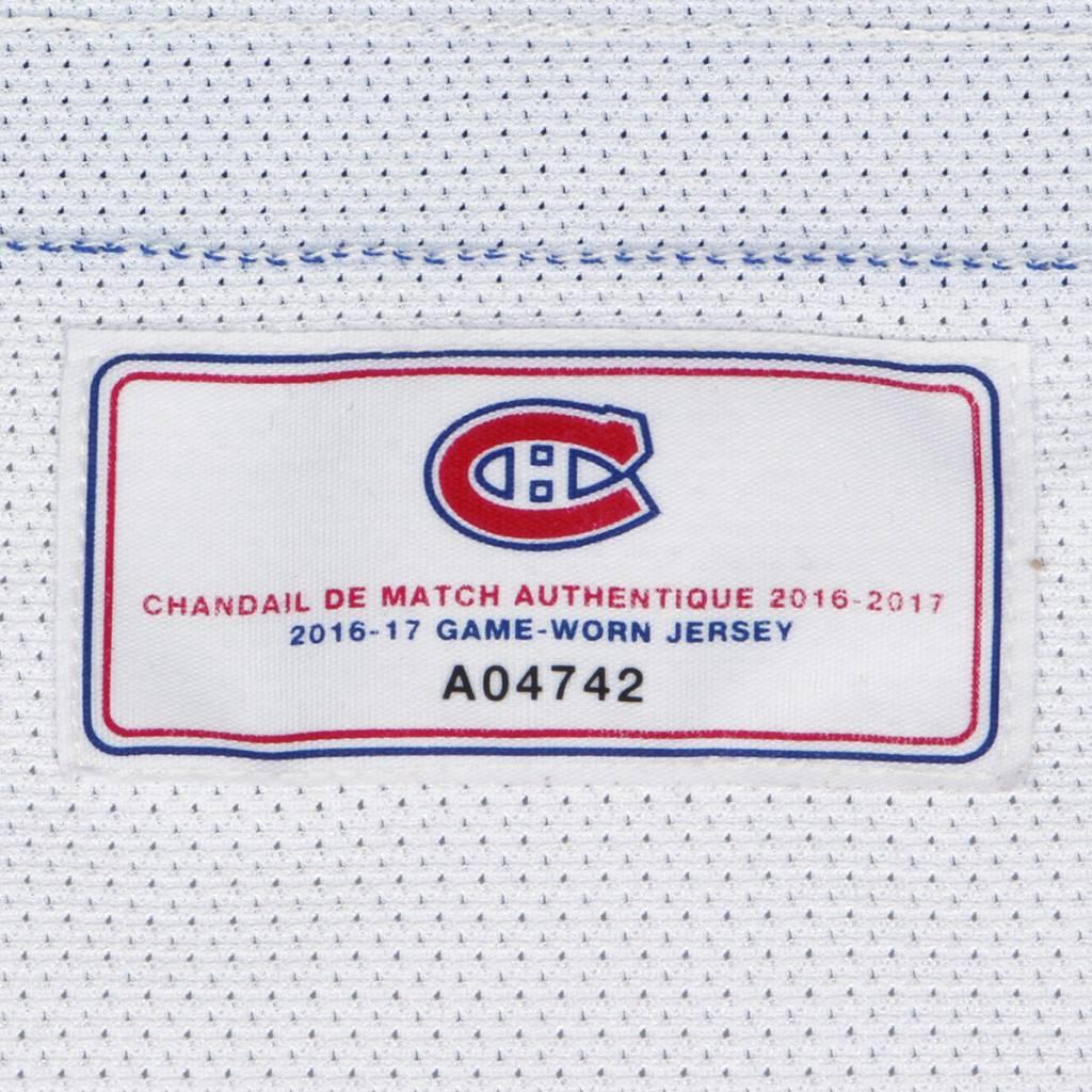 Club De Hockey CHANDAIL PORTÉ 2016-2017 #55 MICHAEL PEZZETTA À L'ÉTRANGER (CHANDAIL PRÉPARÉ)