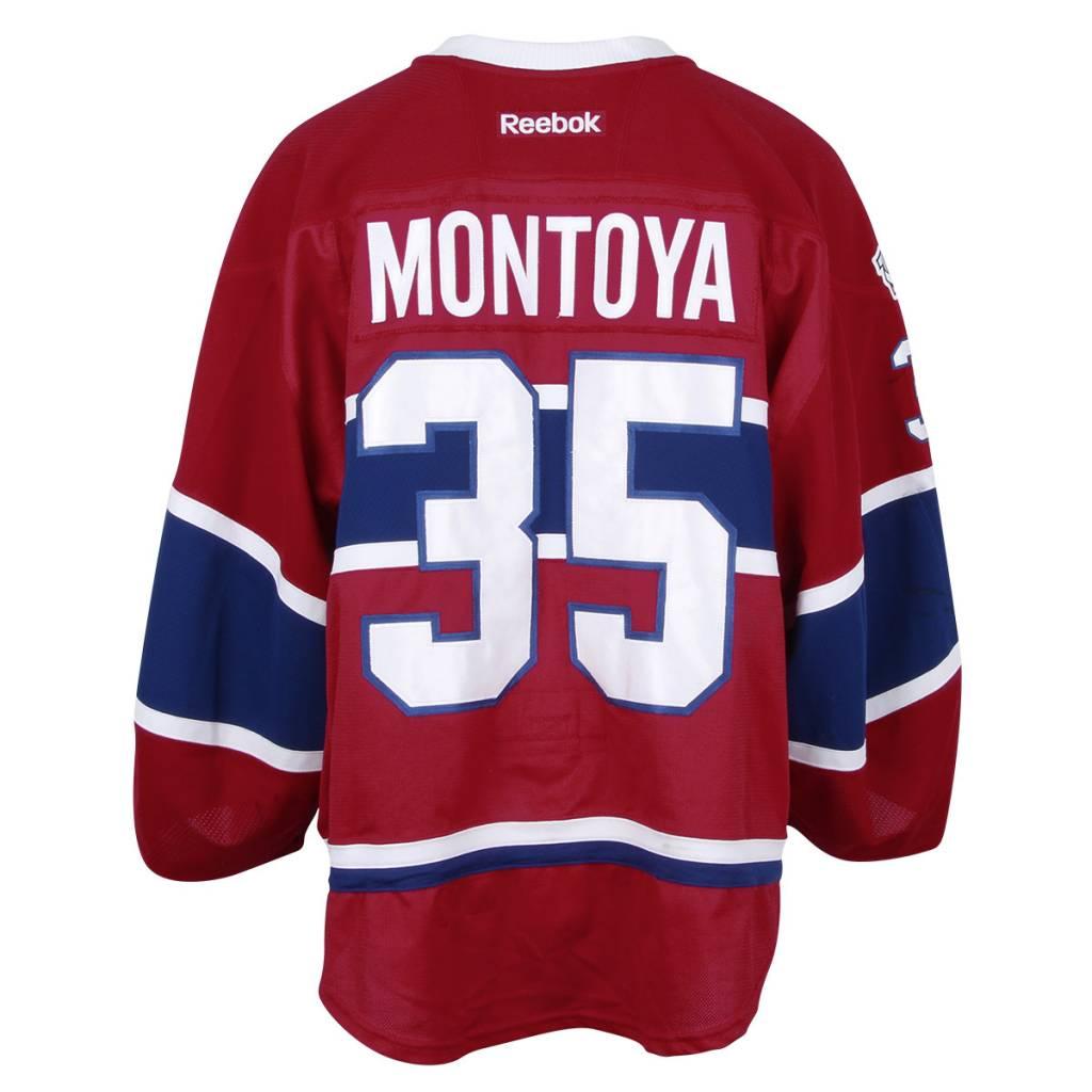 Club De Hockey 2016-2017 #35 AL MONTOYA HOME SET 1 GAME-USED JERSEY