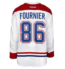 Club De Hockey CHANDAIL PORTÉ 2015-2016 #86 STEFAN FOURNIER À L'ÉTRANGER (CHANDAIL PRÉPARÉ)