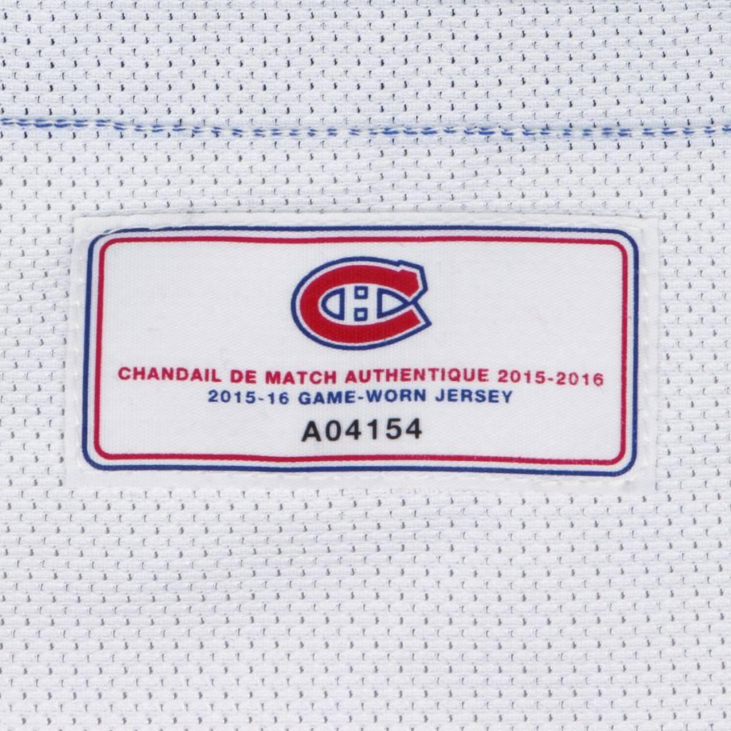 Club De Hockey CHANDAIL PORTÉ 2015-2016 #97 JAMAL WATSON À L'ÉTRANGER (CHANDAIL PRÉPARÉ)