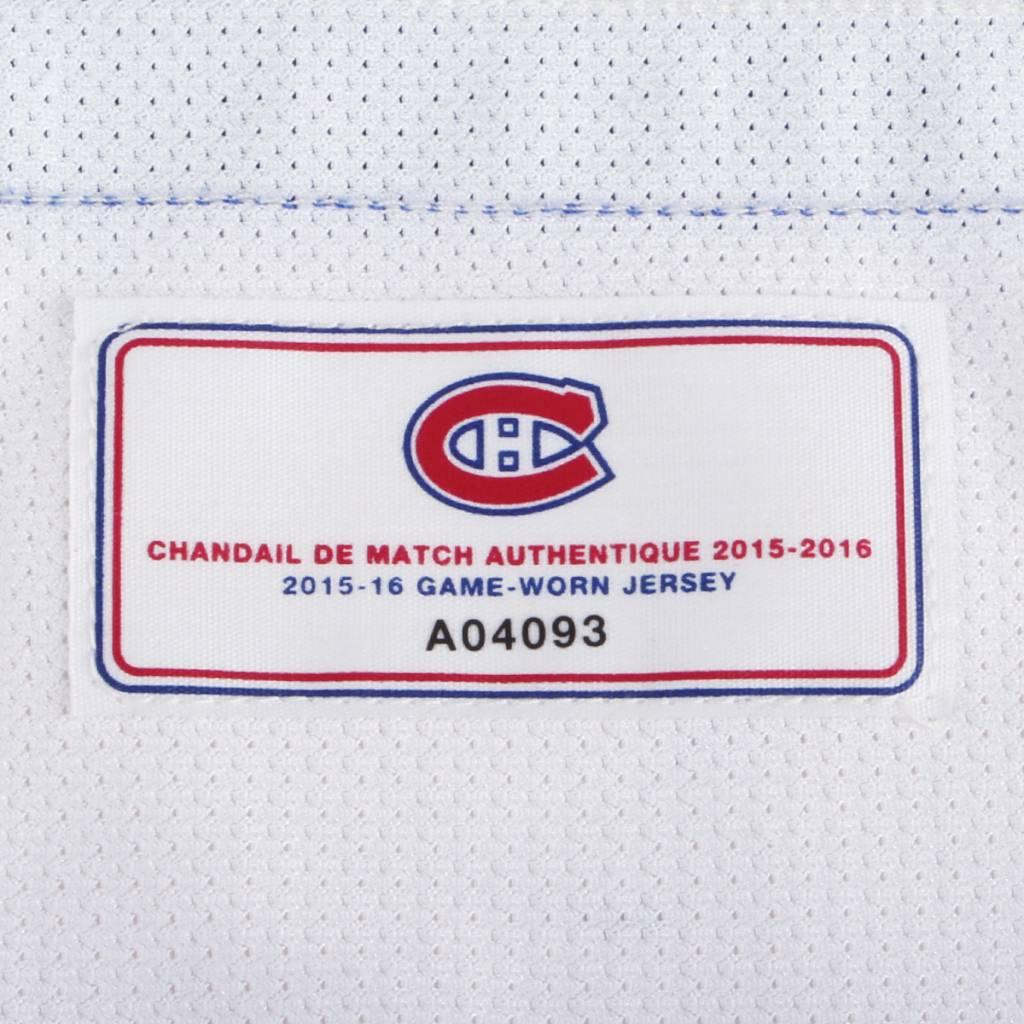 "Club De Hockey CHANDAIL PORTÉ 2015-2016 #67 MAX PACIORETTY ""C"" SÉRIE 2 À L'ÉTRANGER"