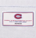 Club De Hockey CHANDAIL PORTÉ 2016-2017 #70 MICHAEL MCNIVEN SÉRIE 1 À L'ÉTRANGER (CHANDIAL PREÉPARÉ)