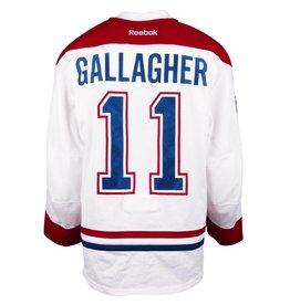 """Club De Hockey CHANDAIL PORTÉ 2016-2017 #11 BRENDAN GALLAGHER """"A"""" SÉRIE 1 À L'ÉTRANGER"""
