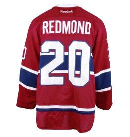 Club De Hockey CHANDAIL PORTÉ 2016-2017 #20 ZACH REDMOND SÉRIE 2 À DOMICILE