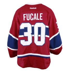 Club Du Hockey 2016-2017 #30 ZACH FUCALE HOME SET 1 GAME-USED JERSEY (PRE-SEASON)