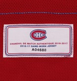 Club De Hockey 2016-2017 #34 MICHAEL MCCARRON HOME SET 1 GAME-USED JERSEY