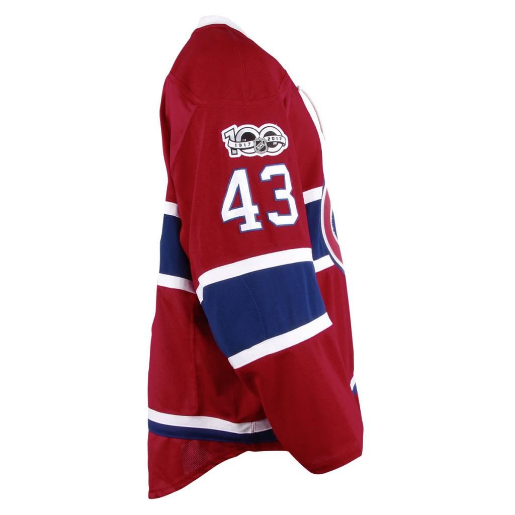 Club De Hockey 2016-2017 #43 DANIEL CARR HOME SET 2 GAME USED JERSEY