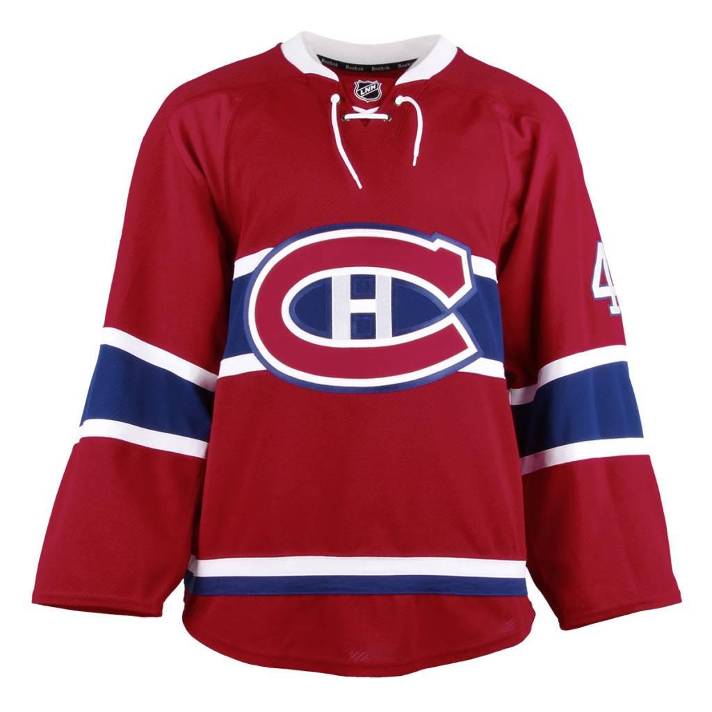 Club De Hockey CHANDAIL PORTÉ 2016-2017 #48 DANIEL AUDETTE SÉRIE 1 À DOMICILE (MATCHS PRÉPARATOIRES)