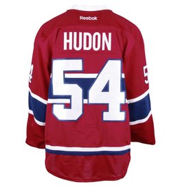 Club De Hockey CHANDAIL PORTÉ 2016-2017 #54 CHARLES HUDON SÉRIE 1 À DOMICILE