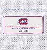Club De Hockey CHANDAIL PORTÉ 2016-2017 #68 MARK MACMILLAN SÉRIE 1 À L'ÉTRANGER (CHANDAIL PREÉPARÉ)