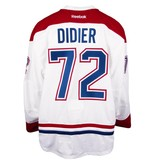 Club De Hockey 2016-2017 #72 JOSIAH DIDIER AWAY SET 1 GAME-USED JERSEY (GAME-ISSUED)