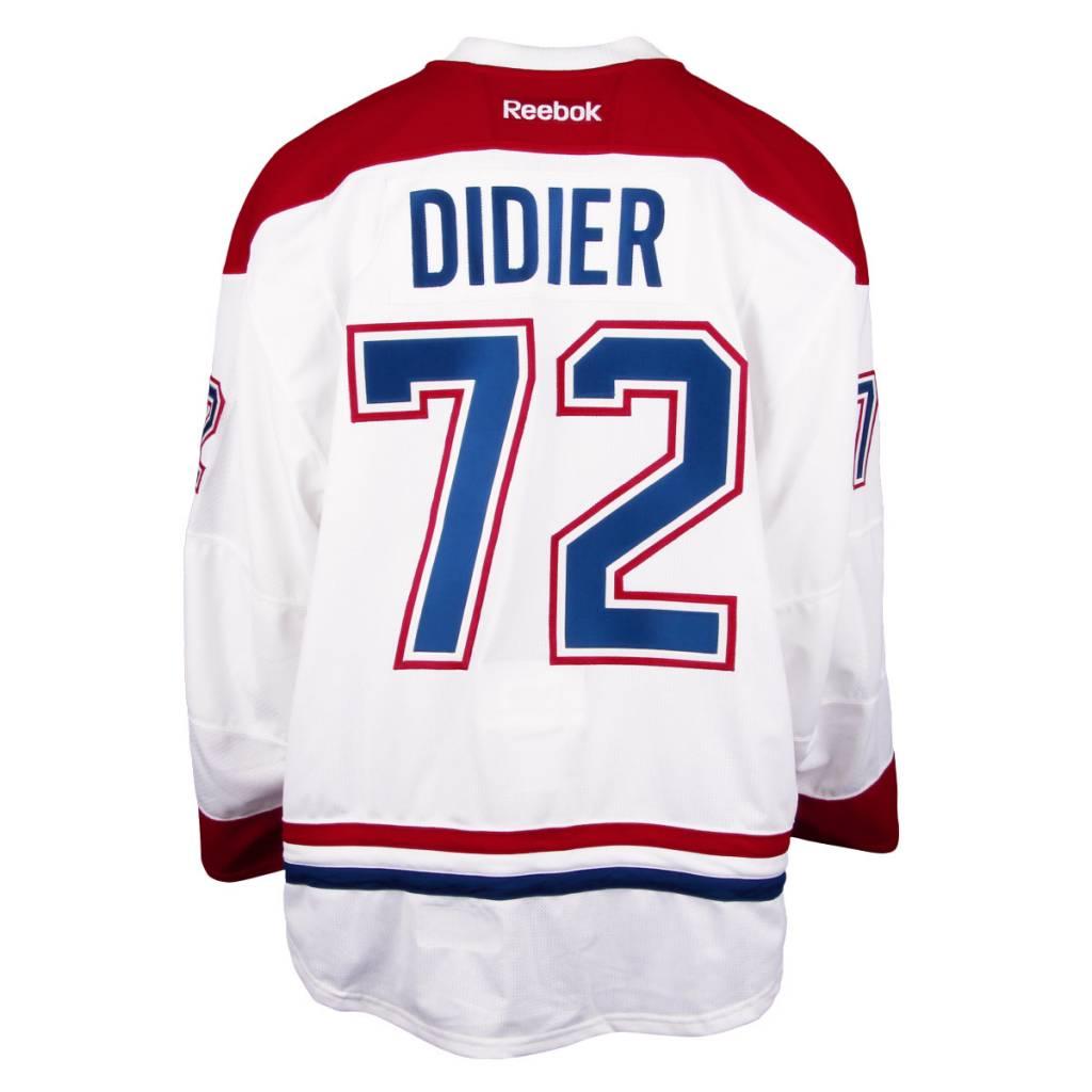Club De Hockey CHANDAIL PORTÉ 2016-2017 #72 JOSIAH DIDIER SÉRIE 1 À L'ÉTRANGER (CHANDAIL PRÉPARÉ)