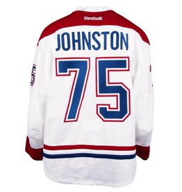 Club De Hockey 2016-2017 #75 RYAN JOHNSTON AWAY SET 2 GAME-USED JERSEY (GAME-ISSUED)