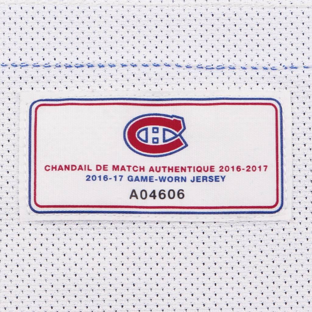 Club De Hockey CHANDAIL PORTÉ 2016-2017 #75 RYAN JOHNSTON SÉRIE 2 À L'ÉTRANGER (CHANDAIL PRÉPARÉ)