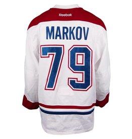 Club De Hockey CHANDAIL PORTÉ 2016-2017 #79 ANDREI MARKOV SÉRIE 1 À L'ÉTRANGER