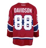 Club De Hockey 2016-2017 #88 BRANDON DAVIDSON HOME SET 2 GAME-USED JERSEY