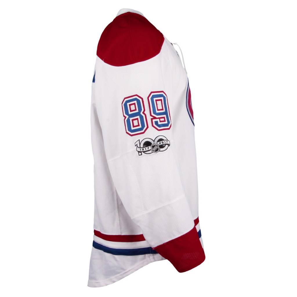Club De Hockey CHANDAIL PORTÉ 2016-2017 #89 NIKITA NESTEROV SÉRIE 2 À L'ÉTRANGER (CHANDAIL PRÉPARÉ)