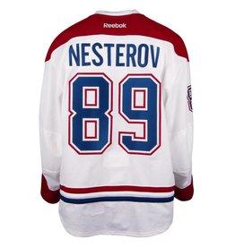 Club De Hockey 2016-2017 #89 NIKITA NESTEROV AWAY SET 3 GAME-USED JERSEY (GAME-ISSUED)