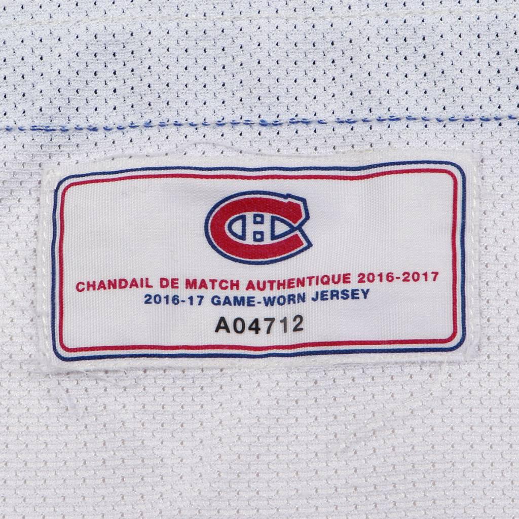 Club De Hockey 2016-2017 #20 ZACH REDMOND AWAY SET 1 GAME USED JERSEY