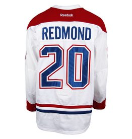 Club De Hockey 2016-2017 #20 ZACH REDMOND AWAY SET 1 GAME USED JERSEY