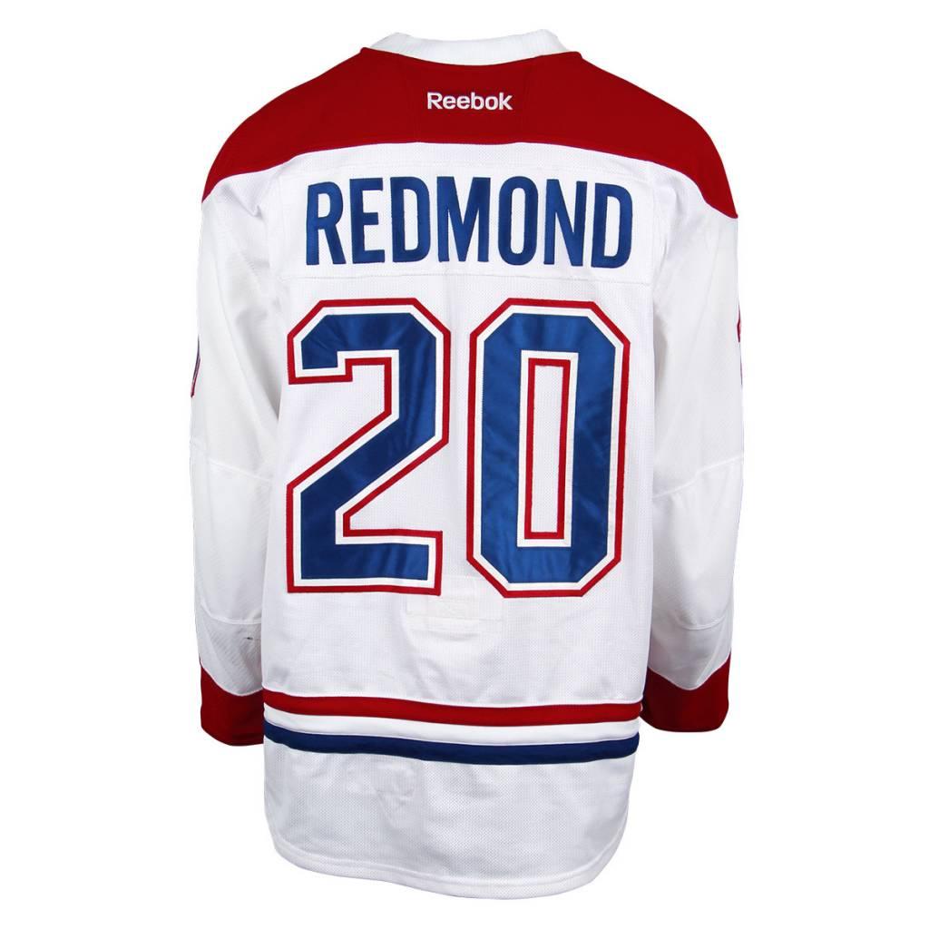 Club De Hockey CHANDAIL PORTÉ 2016-2017 #20 ZACH REDMOND SÉRIE 1 À L'ÉTRANGER