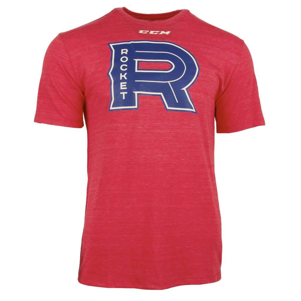ccm rocket ccm t shirt tricolore sports