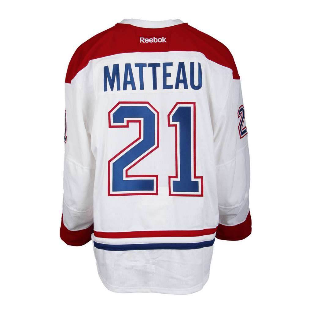 Club De Hockey 2016-2017 #21 STEFAN MATTEAU AWAY SET 2 GAME-USED JERSEY (GAME-ISSUED)