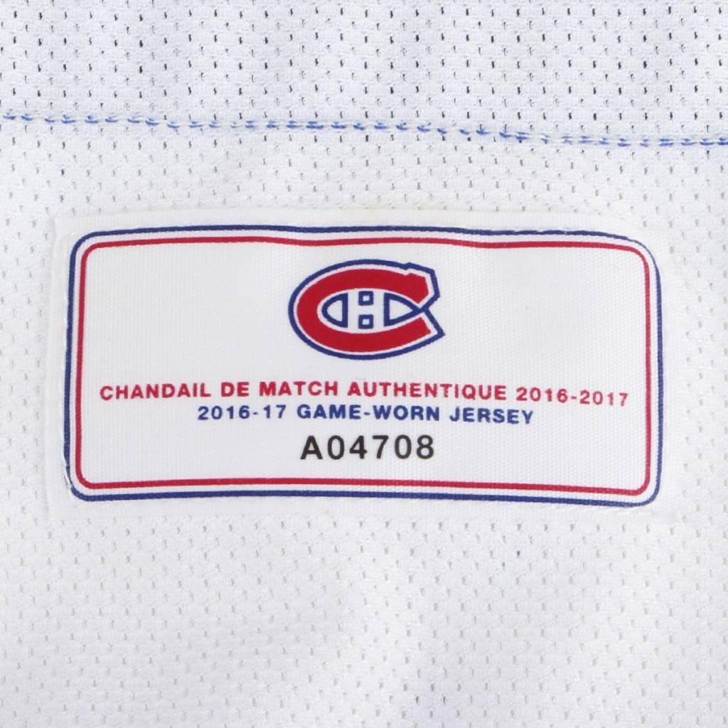 Club De Hockey CHANDAIL PORTÉ 2016-2017 #21 STEFAN MATTEAU SÉRIE 2 À L'ÉTRANGER (CHANDAIL PRÉPARÉ)