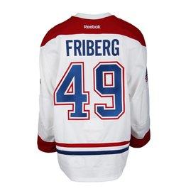 Club De Hockey CHANDAIL PORTÉ 2016-2017 #49 MAX FRIBERG SÉRIE 1 À L'ÉTRANGER (CHANDAIL PRÉPARÉ)