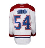 Club De Hockey 2015-2016 #54 CHARLES HUDON AWAY SET 1 GAME-USED JERSEY