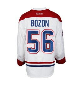 Club De Hockey 2015-2016 #56 TIM BOZON AWAY SET 1 GAME-USED JERSEY (GAME-ISSUED)