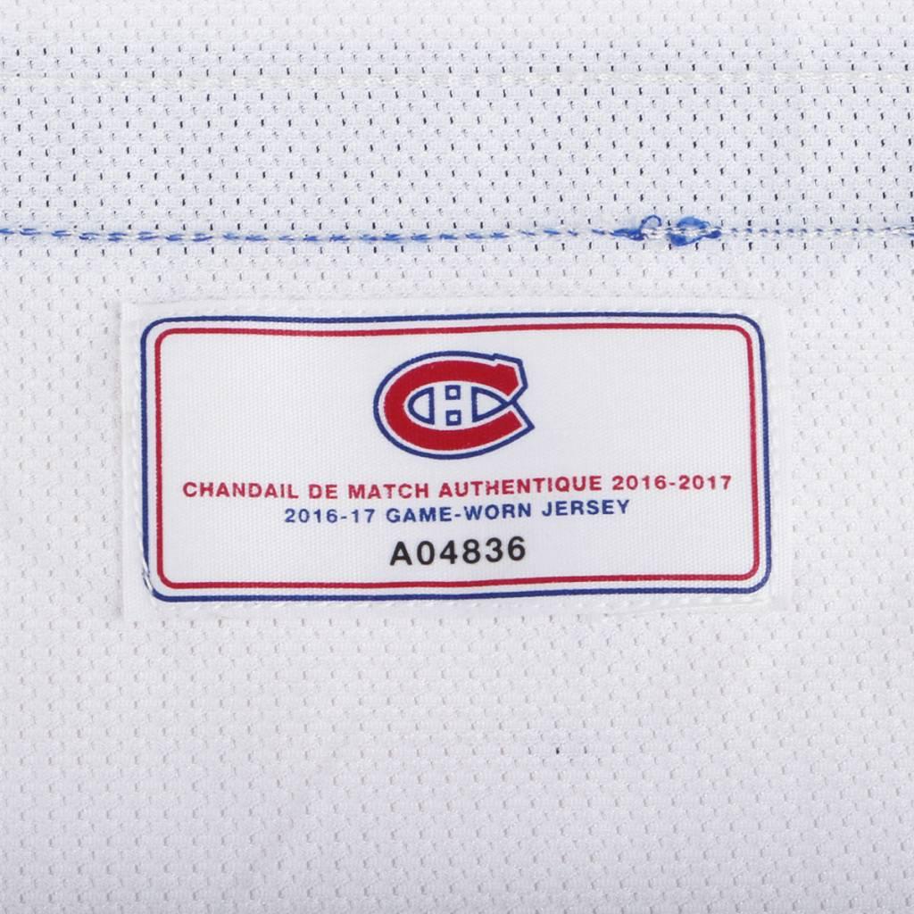 Club De Hockey CHANDAIL PORTÉ 2016-2017 #57 MARKUS EISENSCHMID SÉRIE 1 À L'ÉTRANGER (CHANDAIL PREÉPARÉ)