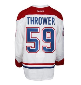 Club De Hockey 2016-2017 #59 DALTON THROWER AWAY SET 1 GAME-USED JERSEY (GAME-ISSUED)