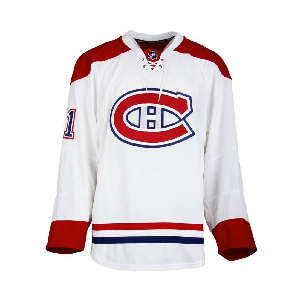 Club De Hockey CHANDAIL PORTÉ 2016-2017 #61 CONNOR CRISP SÉRIE 1 À L'ÉTRANGER (CHANDAIL PRÉPARÉ)