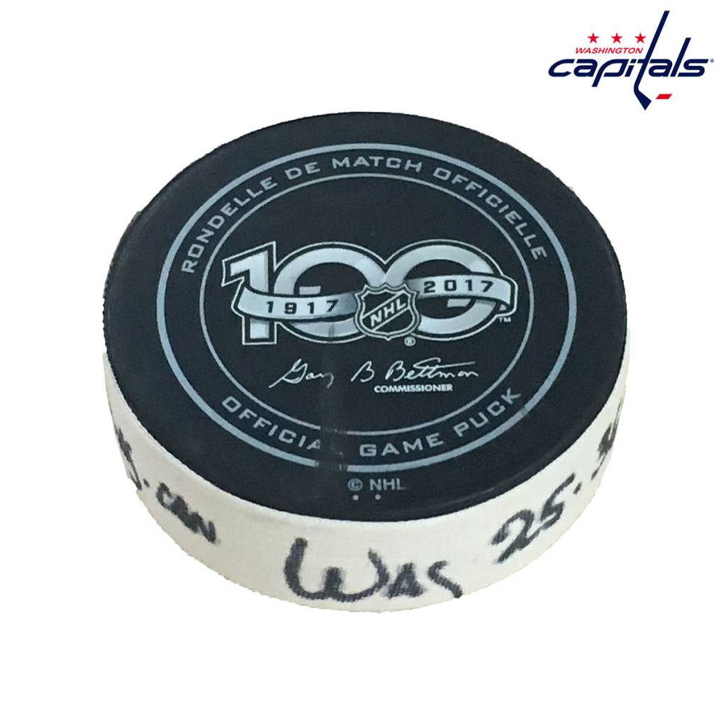Club De Hockey DEVANTE SMITH-PELLY GOAL PUCK (1) 20-SEP-2017