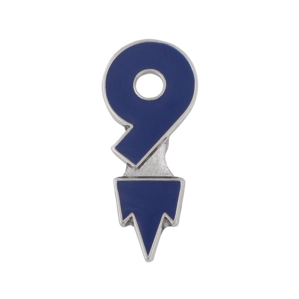 JF Sports ROCKET #9 PIN