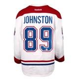 Club De Hockey CHANDAIL PORTÉ 2016-2017 #89 RYAN JOHNSTON SÉRIE 1 À L'ÉTRANGER