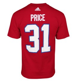 Adidas CAREY PRICE #31 ADIDAS PLAYER T-SHIRT