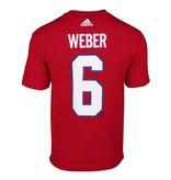 Adidas T-SHIRT JOUEUR ADIDAS #6 SHEA WEBER