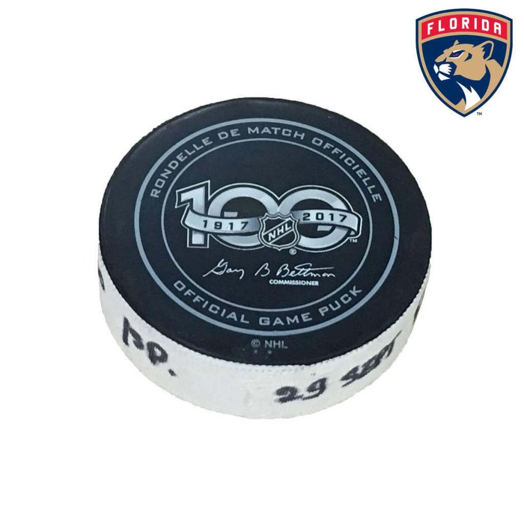 Club De Hockey EVGENII DADONOV GOAL PUCK (2) 29-SEP-2017