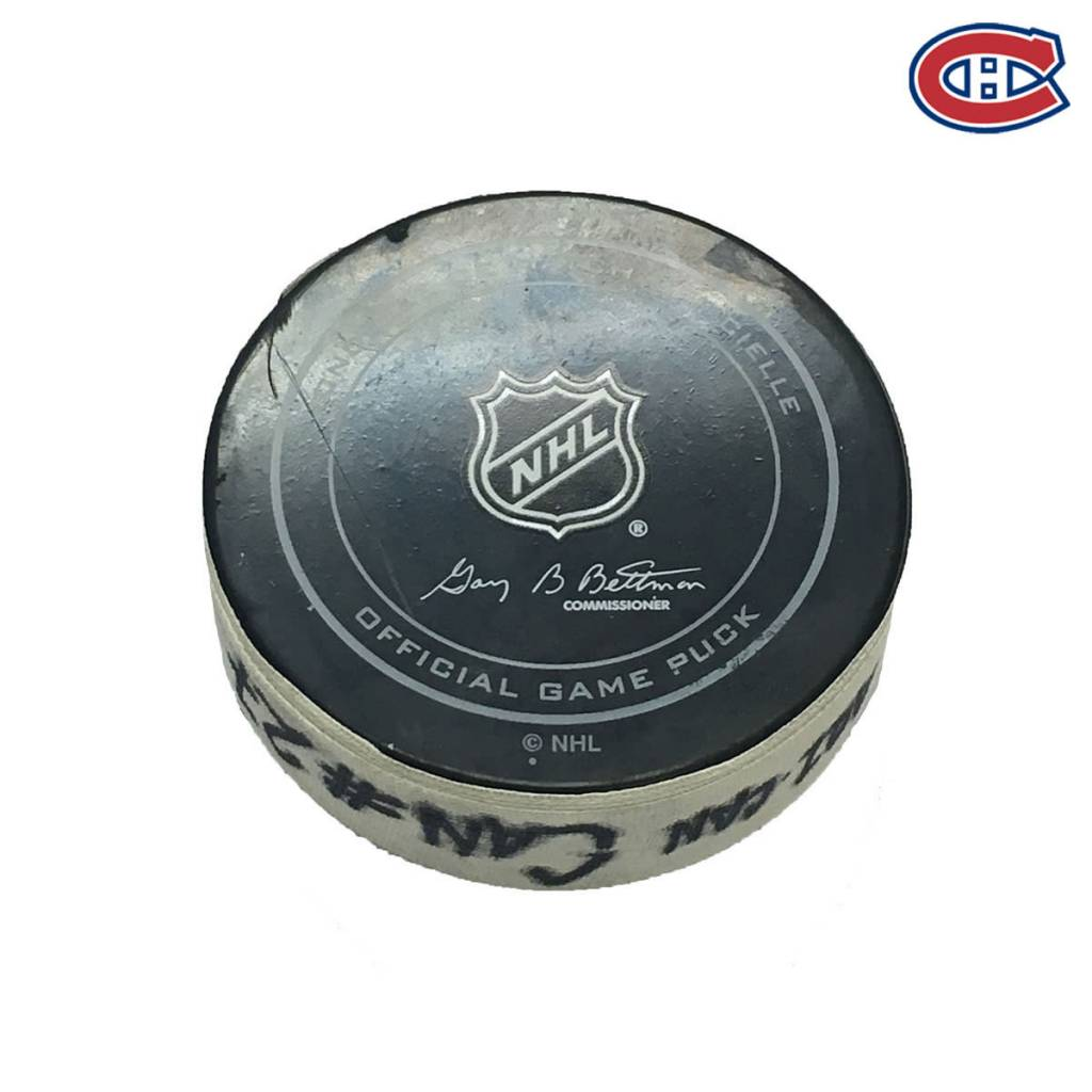 Club De Hockey ALEX GALCHENYUK GOAL PUCK (1) 20-OCT-2016
