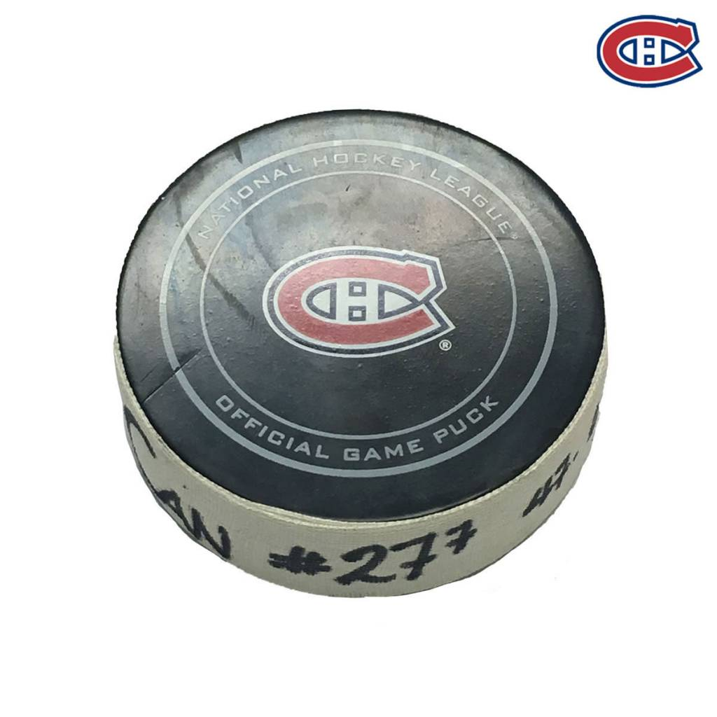 Club De Hockey ALEX GALCHENYUK GOAL PUCK (7) 19-NOV-2016