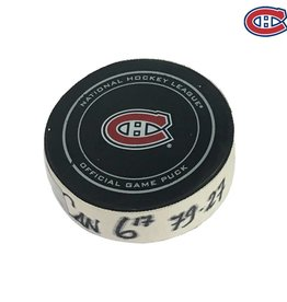 Club De Hockey SHEA WEBER GOAL PUCK (17) 25-MAR-2017