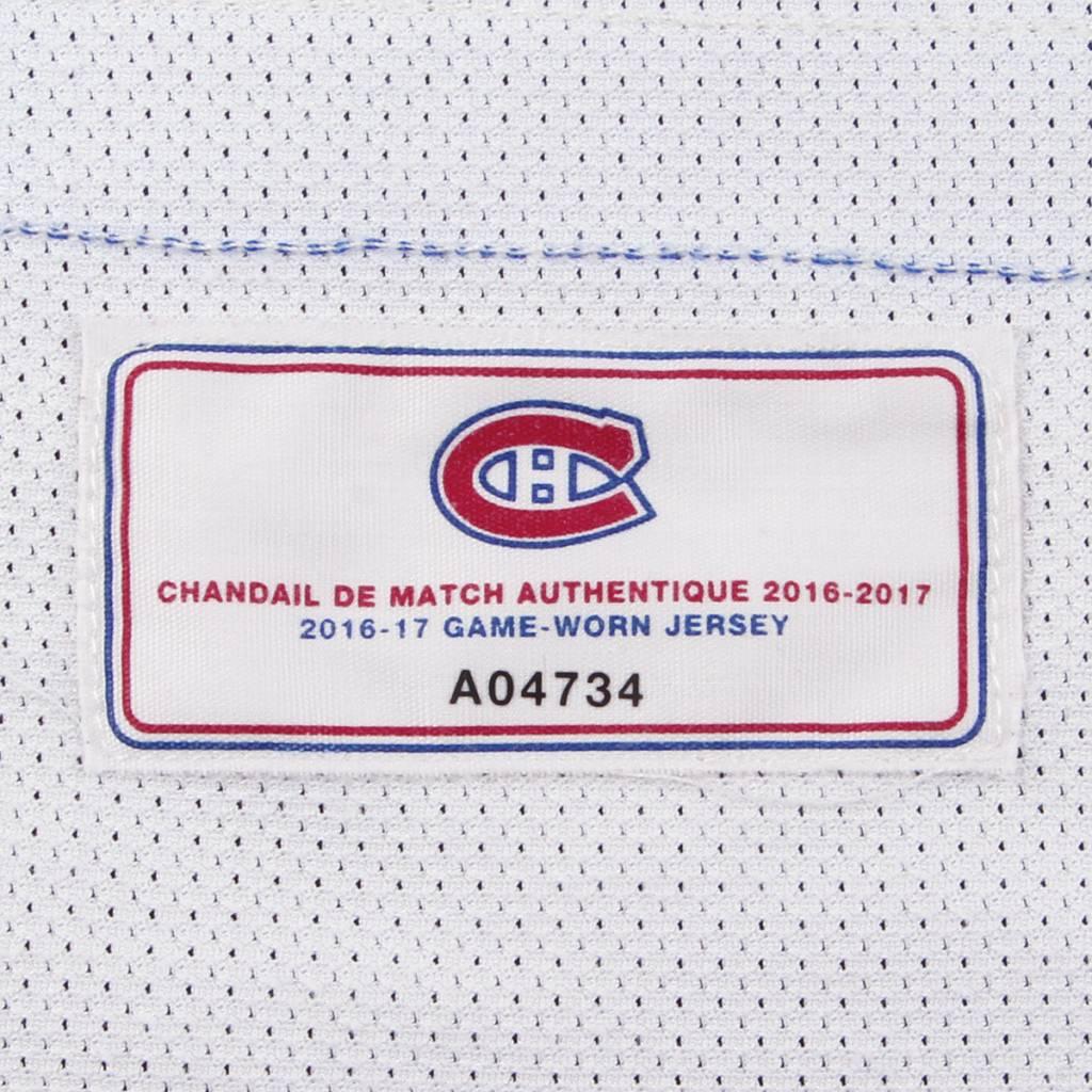 "Club De Hockey CHANDAIL PORTÉ 2016-2017 #67 MAX PACIORETTY ""C"" SÉRIE 1 À L'ÉTRANGER"