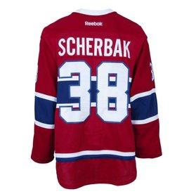 Club De Hockey 2015-2016 #38 NIKITA SCHERBAK HOME SET 1 GAME-USED JERSEY (INTRASQUAD)