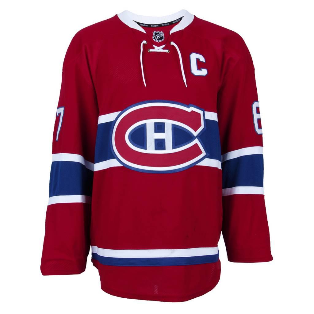 """Club De Hockey CHANDAIL PORTÉ 2015-2016 #67 MAX PACIORETTY """"C"""" SÉRIE 1 À DOMICILE"""