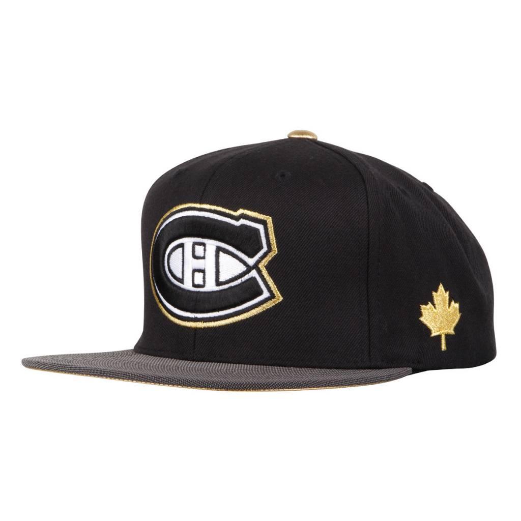 Mitchell & Ness CANADA LEAF LOGO HAT