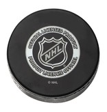 Club Du Hockey PUCK SIGNED BY JEAN BELIVEAU (H.O.F. INSCRIPTION)